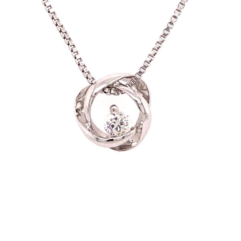 Dean's Signature Time and Eternity Diamond Pendant