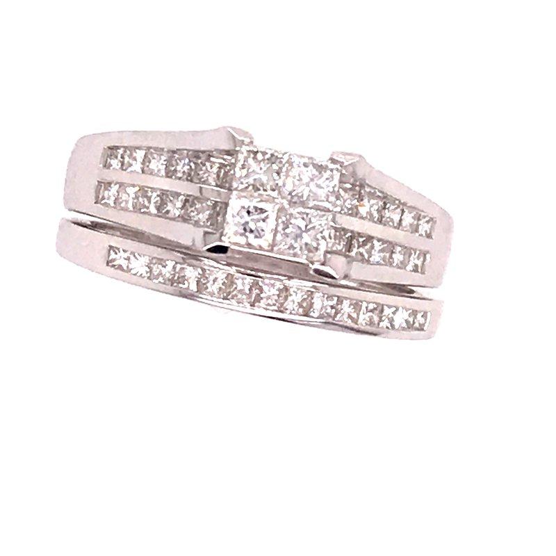 Dean's Bridal Diamond Wedding Set