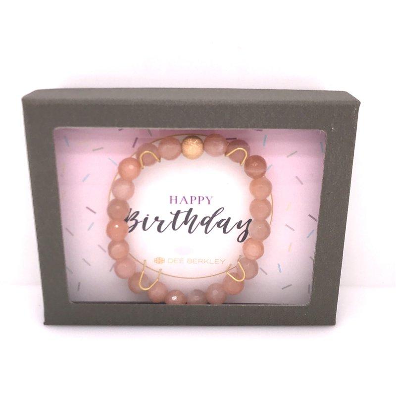 Dee Berkley Happy Birthday Bracelet