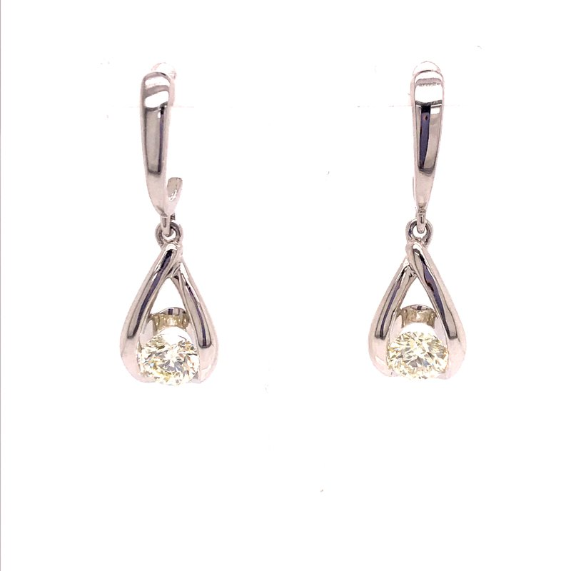 Diamond Fashion Diamond Dangle Earrings