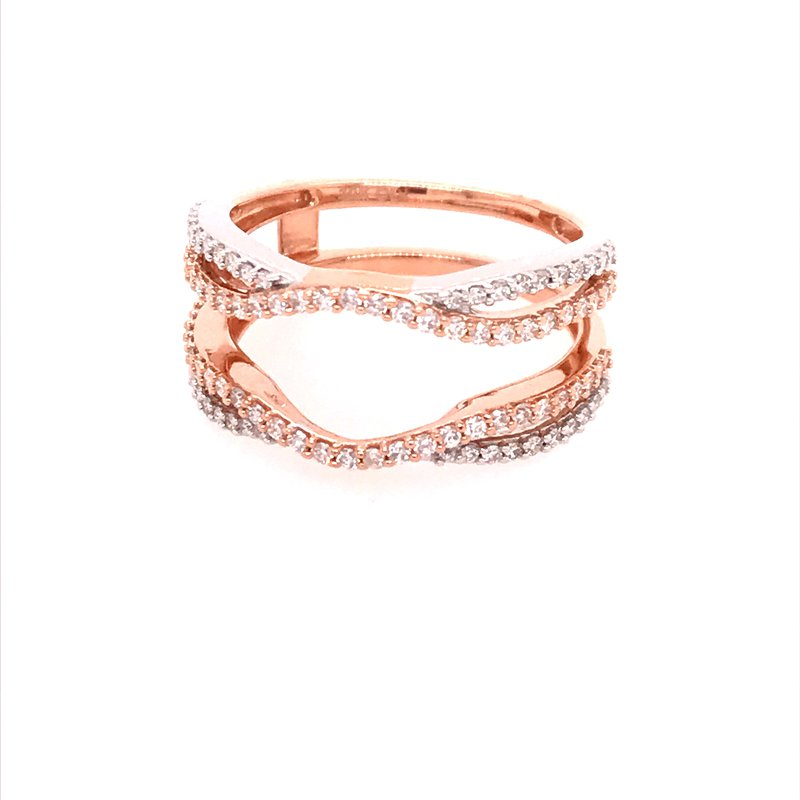 Dean's Bridal Diamond Insert Ring