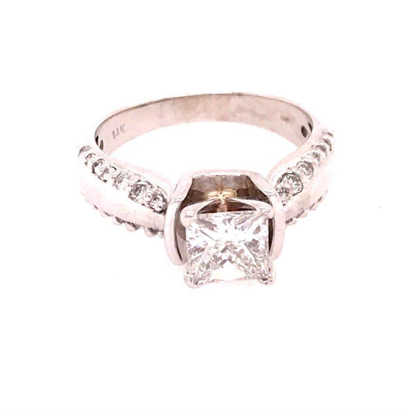 Dean's Signature Diamond Engagement Ring