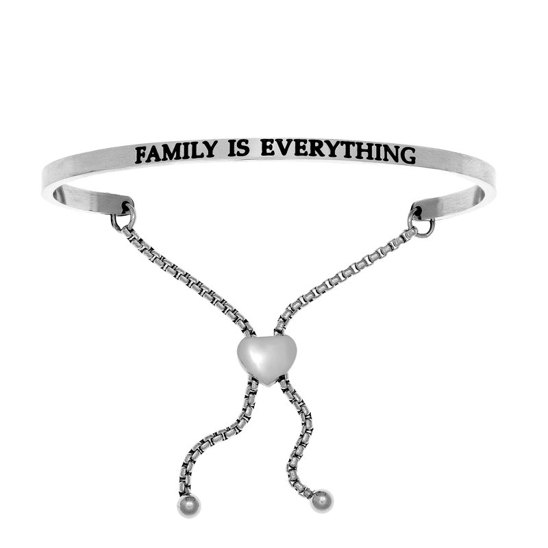 """Fashion Jewelry Intuitions """"Family Is Everything"""" Bracelet"""