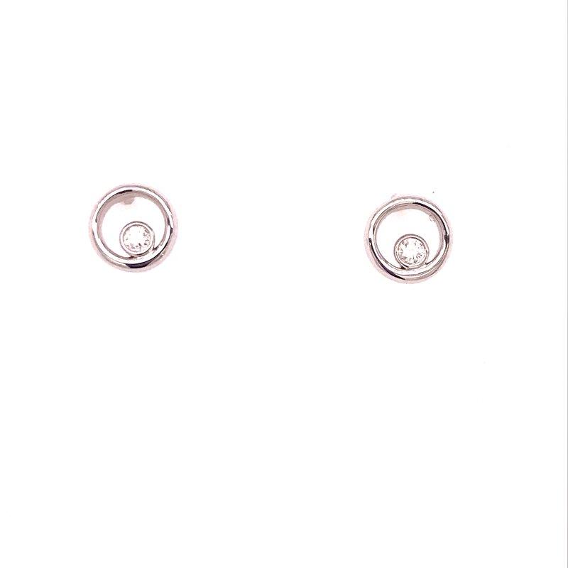 Dean's Signature Eternal Love Diamond Earrings