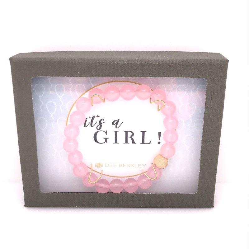 Dee Berkley It's A Girl Bracelet