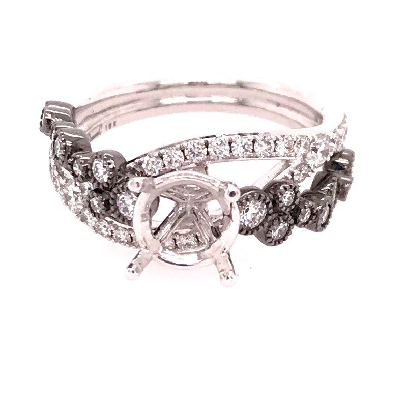 Dean's Signature Forever 15 Engagement Ring - Semi Mount