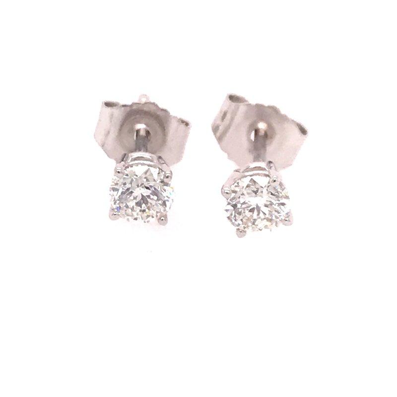 Dean's Signature Whistler Diamond Stud Earrings