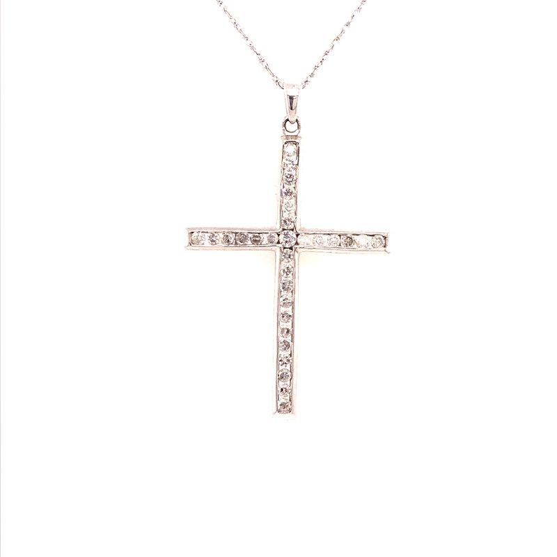 Diamond Fashion Cross Pendant