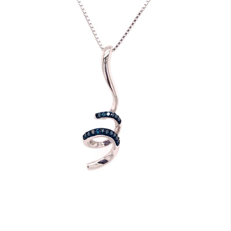 Diamond Fashion CorkScrew Pendant
