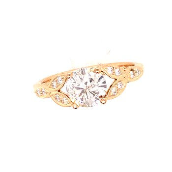 Beverly K Vintage Engagement Ring
