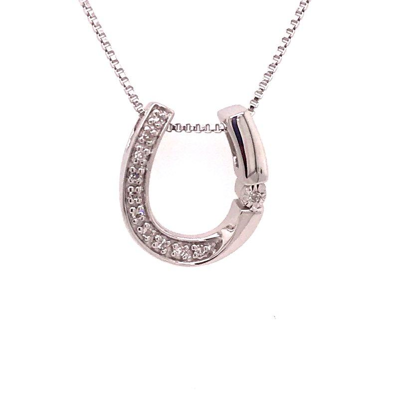 Diamond Fashion Horseshoe Pendant