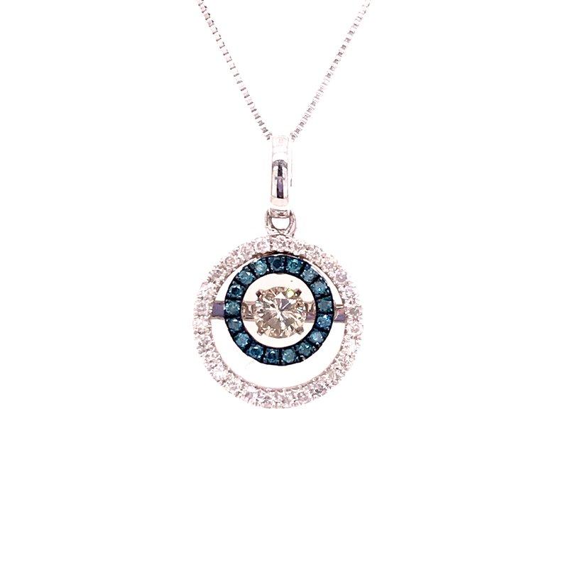 Diamond Fashion Rhythm Of Love Diamond Pendant