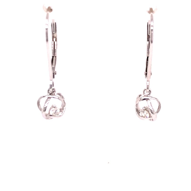 Dean's Signature Time and Eternity Diamond Earrings