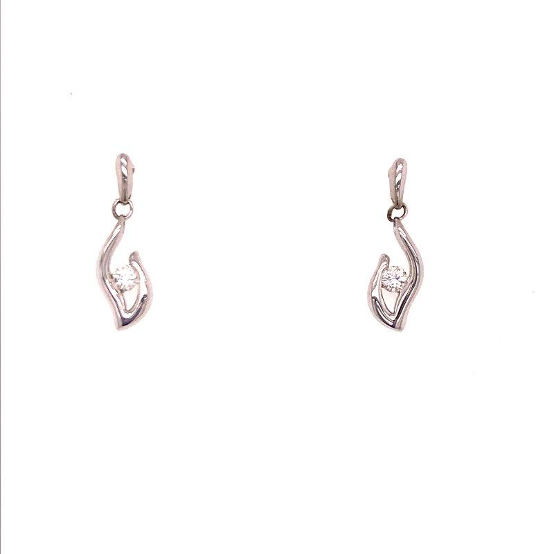 Dean's Signature Eternal Flame Diamond Earrings