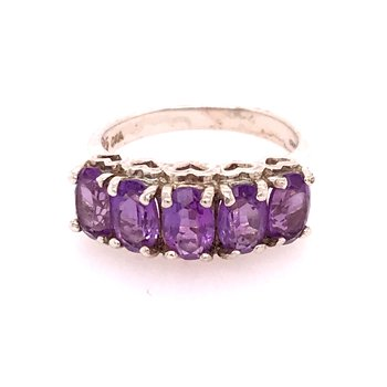 Amethyst Fashion Ring