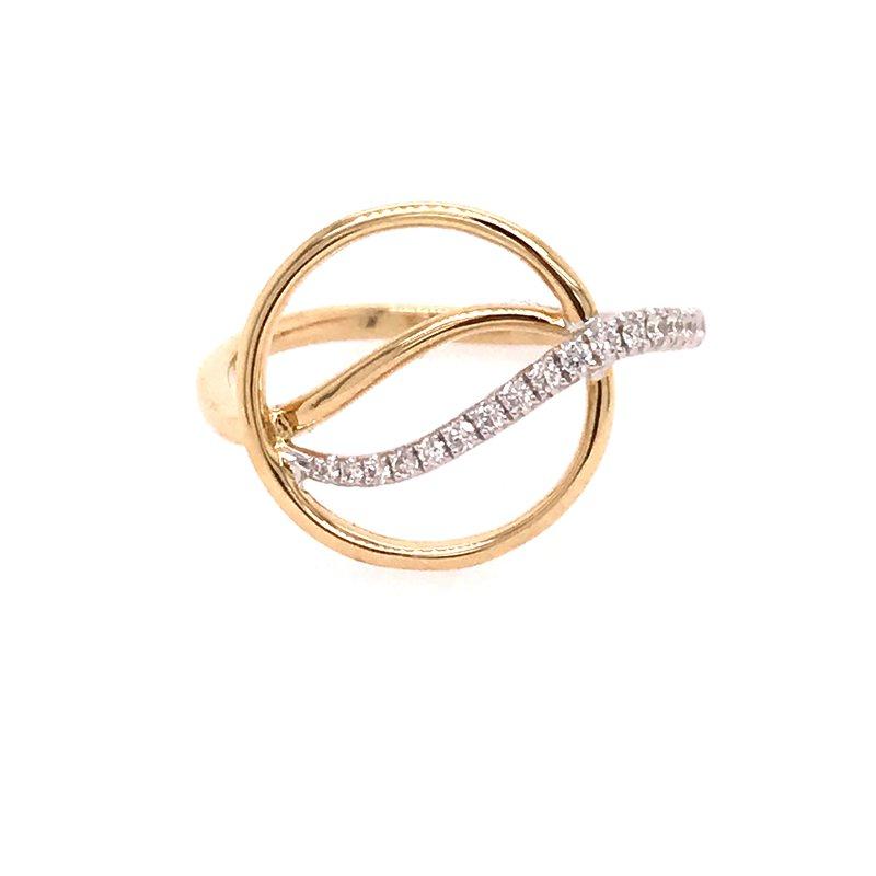 Diamond Fashion Circle Ring
