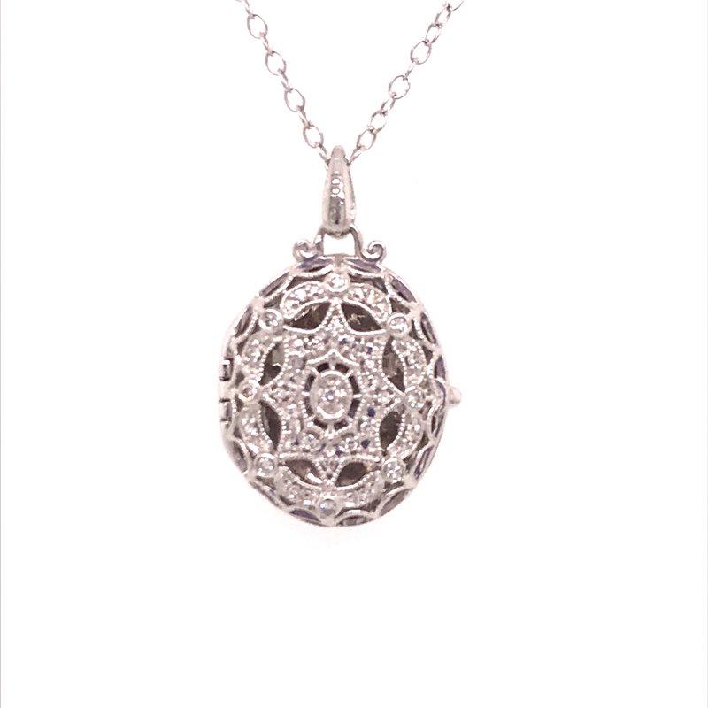 Diamond Fashion Oval Locket