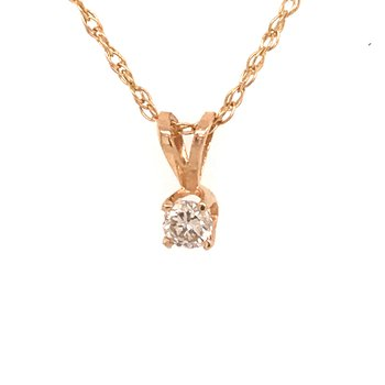 Diamond Solitaire Fashion Pendant