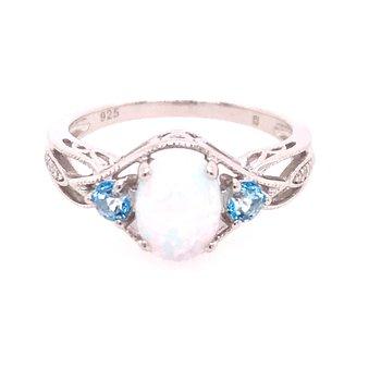 Created Opal Fashion Ring