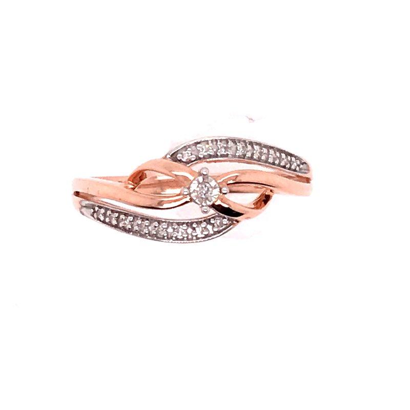 Diamond Fashion Infinity Design Ring