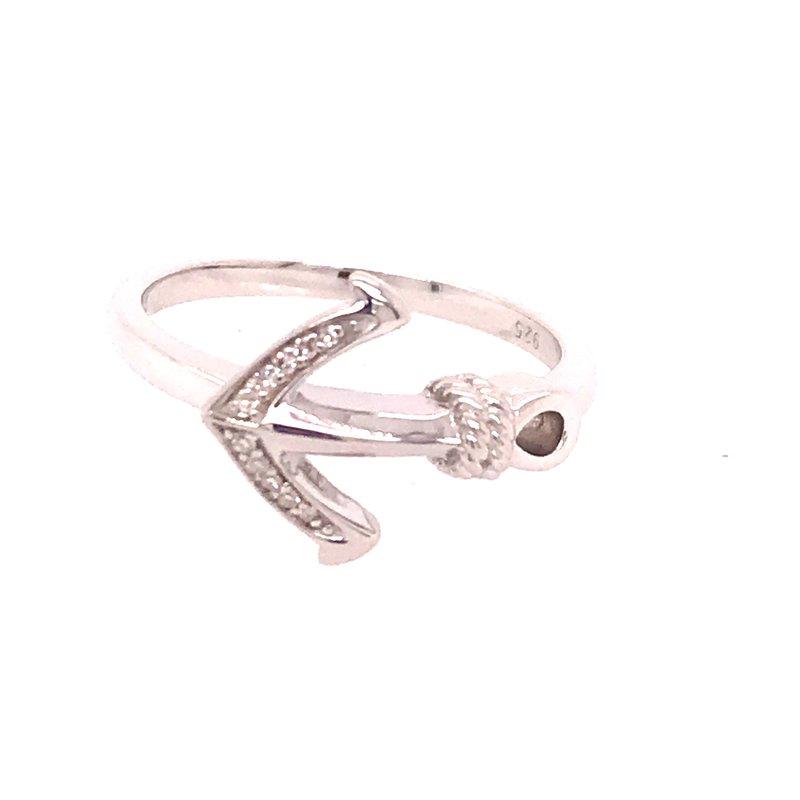 Diamond Fashion Anchor Ring