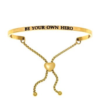 "Intuitions ""Be Your Own Hero"" Bracelet"