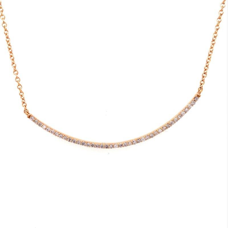 Diamond Fashion Diamond Bar Fashion Necklace