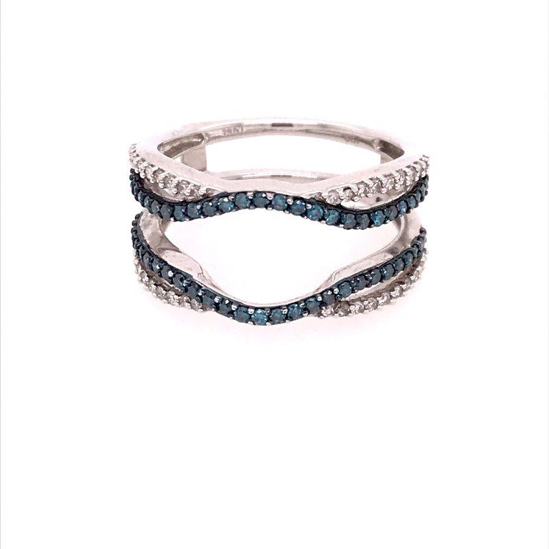 Dean's Bridal Diamond Wedding Insert Ring