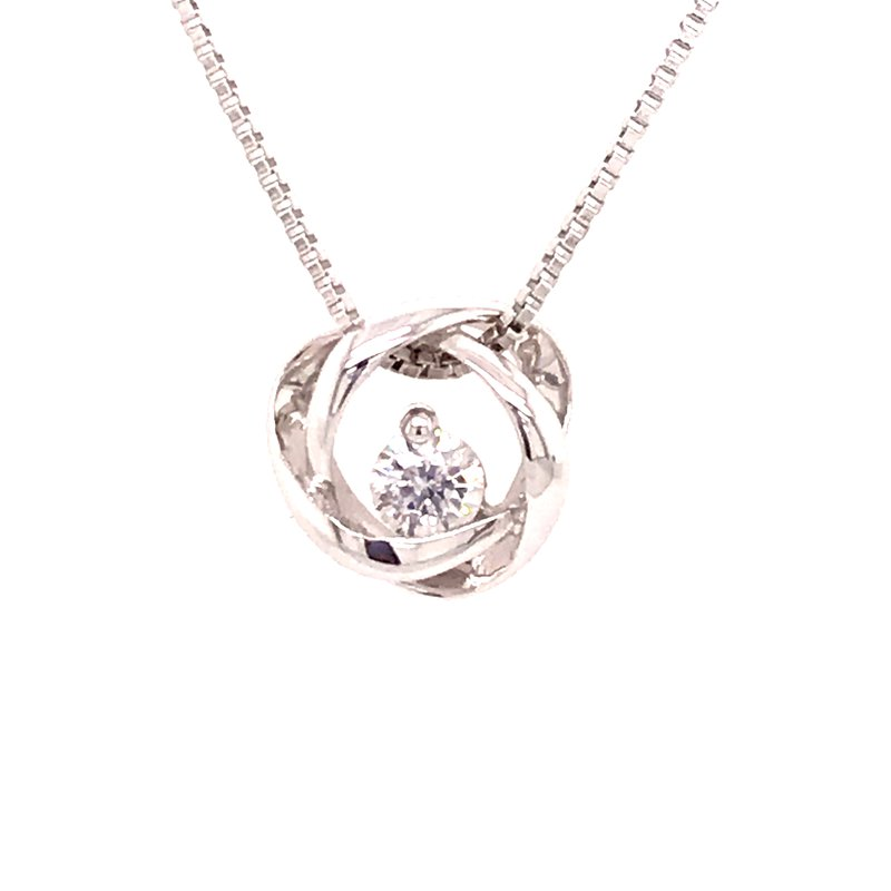 Dean's Signature Time and Eternity Diamond Pendant