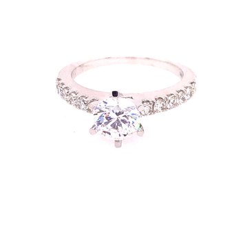 Forever 15 Engagement Ring - Semi Mount
