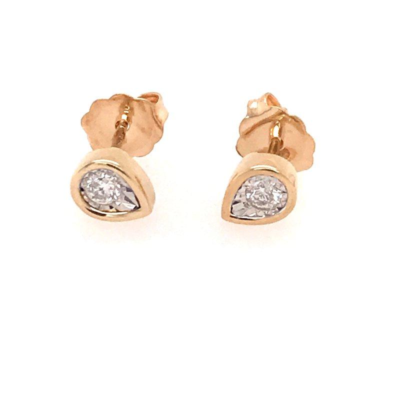 Diamond Fashion Diamond Teardrop Earrings