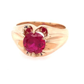 Colored Stone Fashion Ring