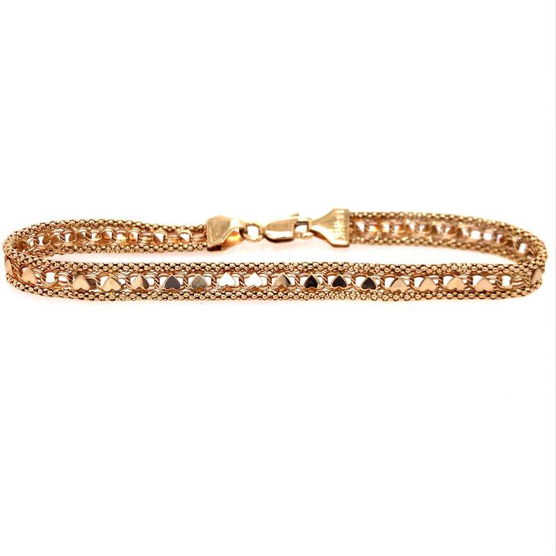 Estate Heart Bracelet
