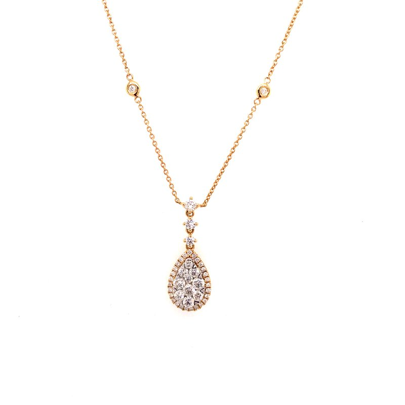 Diamond Fashion Love Bright Pendant