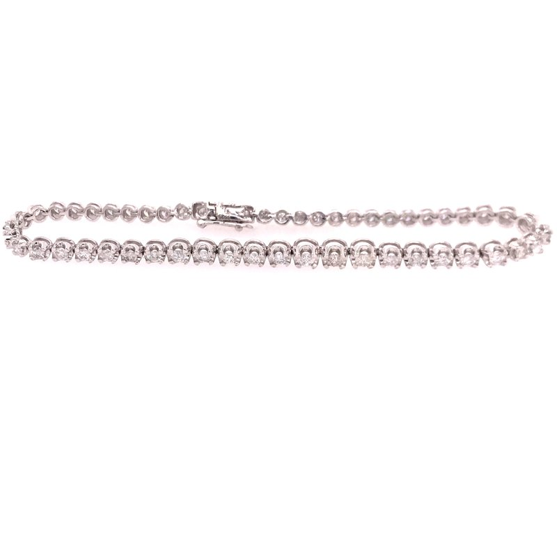 Diamond Fashion Tennis Bracelet