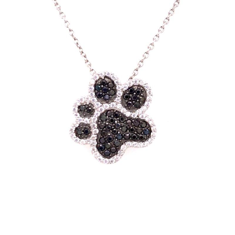 Fashion Jewelry Paw Print Pendant