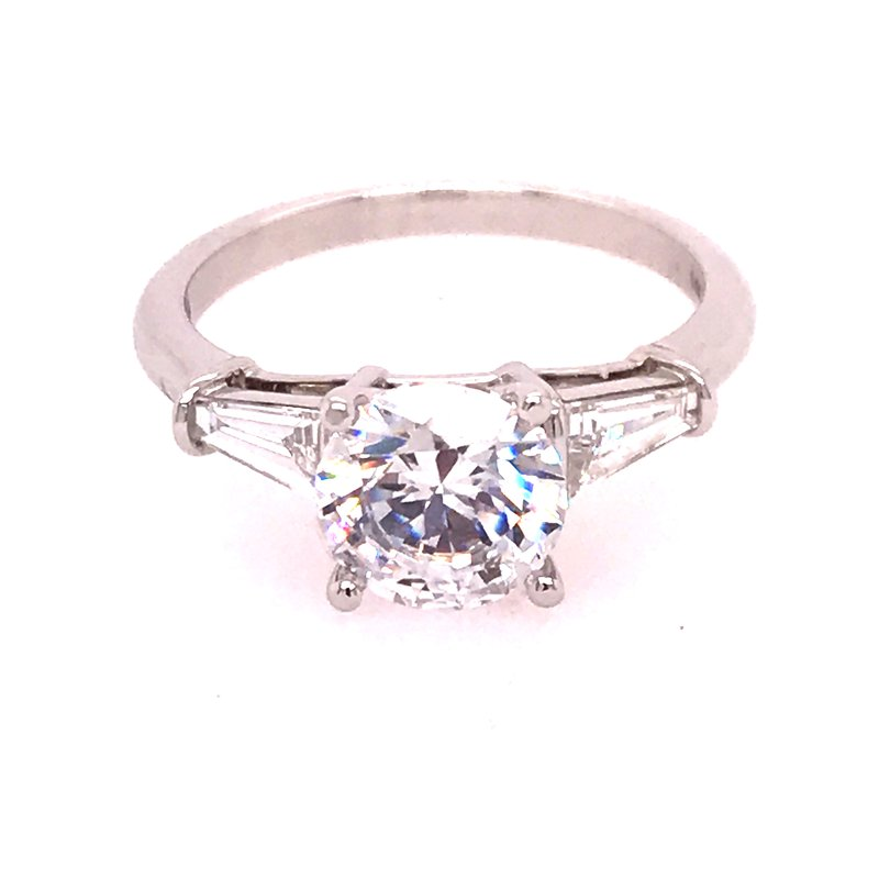 Dean's Signature Forever 15 Engagement Ring - Semi Mount