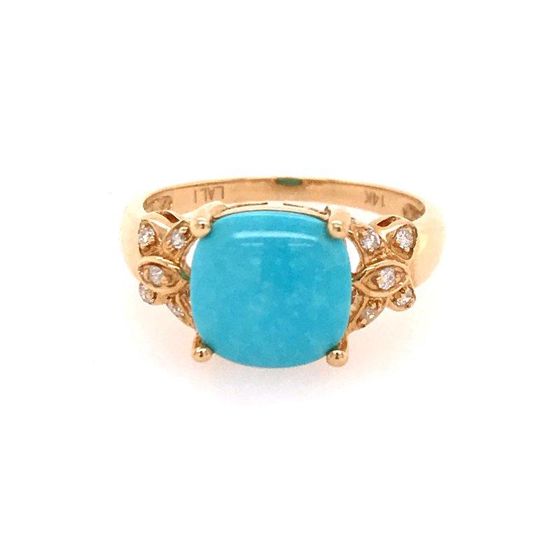 Colored Stone Fashion Turquoise Fashion Ring
