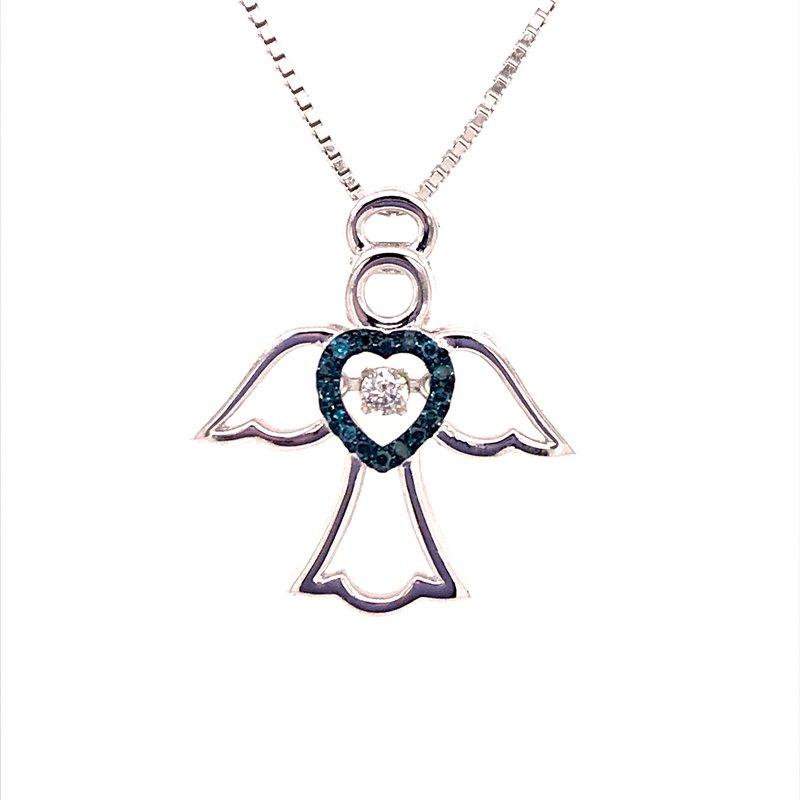 Diamond Fashion Angel Pendant