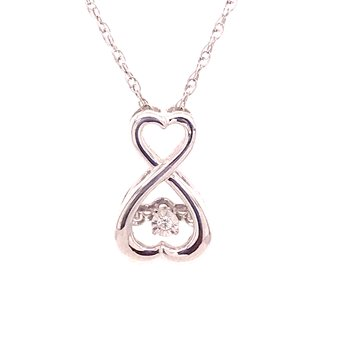 Rhythm Of Love Diamond Pendant