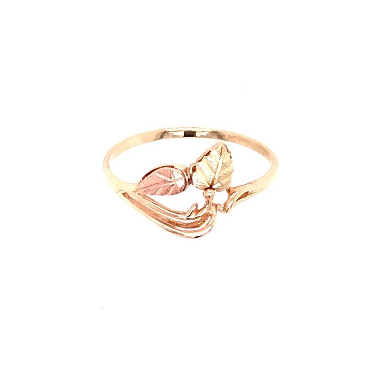 Estate Black Hills Gold Ring