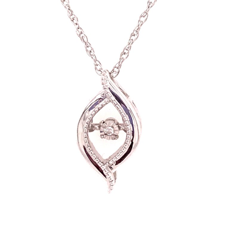 Diamond Fashion Rhythm Of Love Diamond Pendant