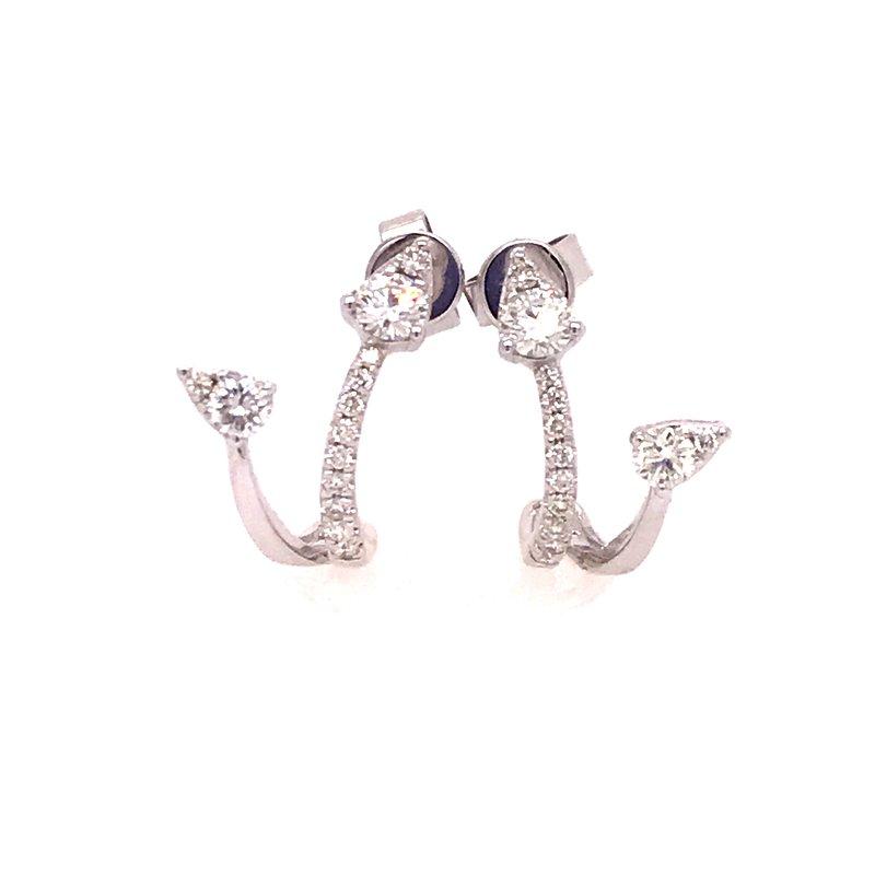 Diamond Fashion Dangle Earrings