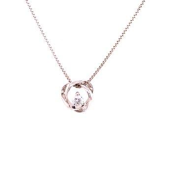 Whistler Diamond Love Knot Pendant