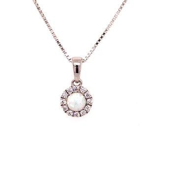 Created Opal Pendant