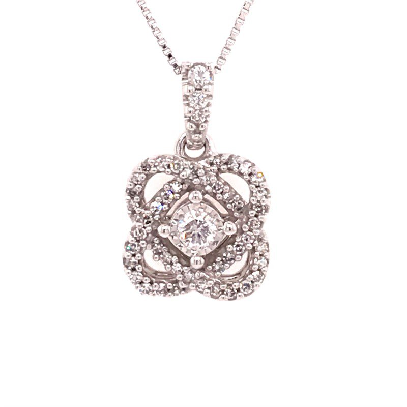 Y.O.U Bridal Hearts United Diamond Pendant