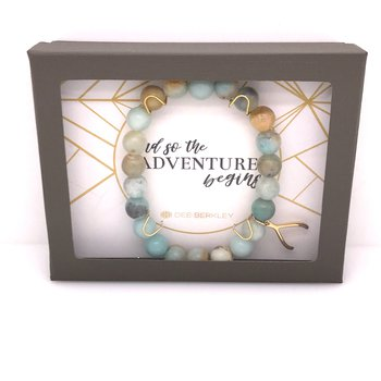 And So The Adventure Begins Bracelet