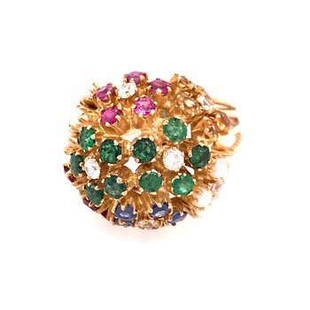 Colorstone Fashion Ring
