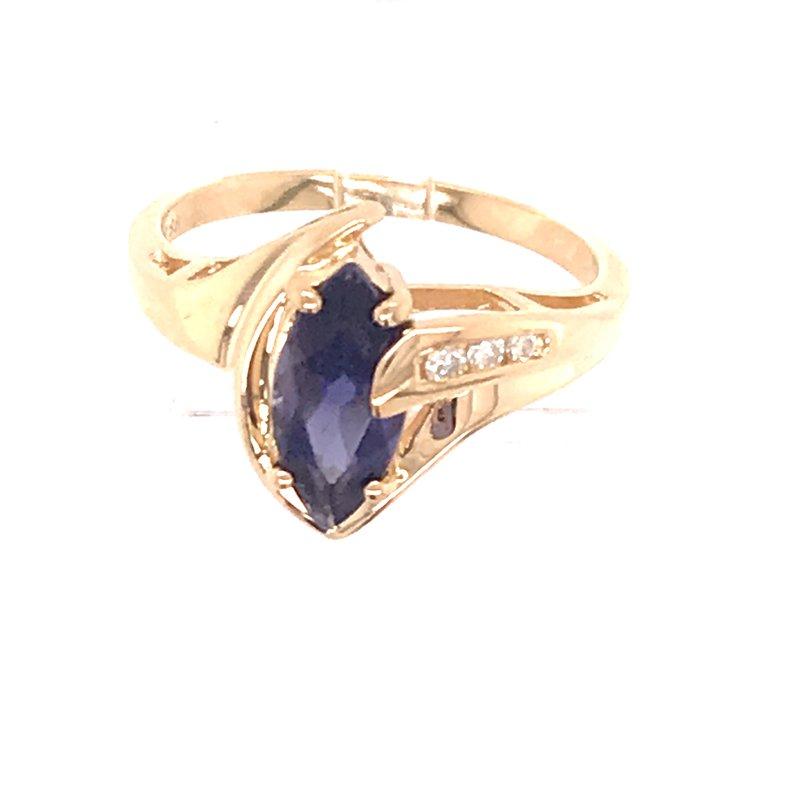 Estate Colorstone Fashion Ring