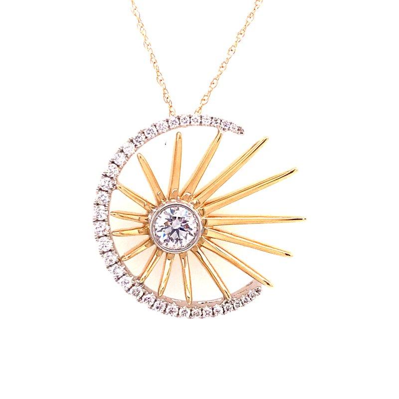 Diamond Fashion Radiant Universe Pendant